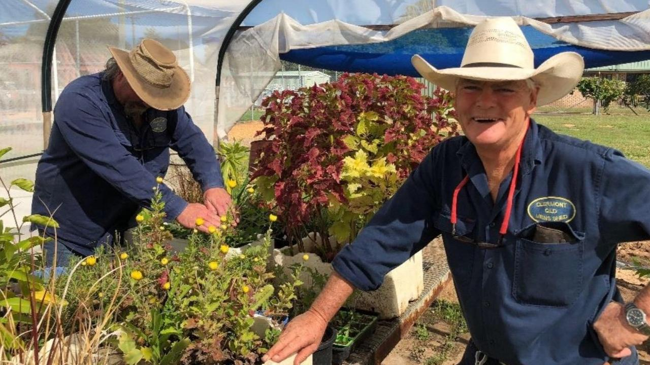 Clermont Men's Shed will receive a $5255 funding boost as part of the 20th funding round of the National Shed Development Programme. Photo: file