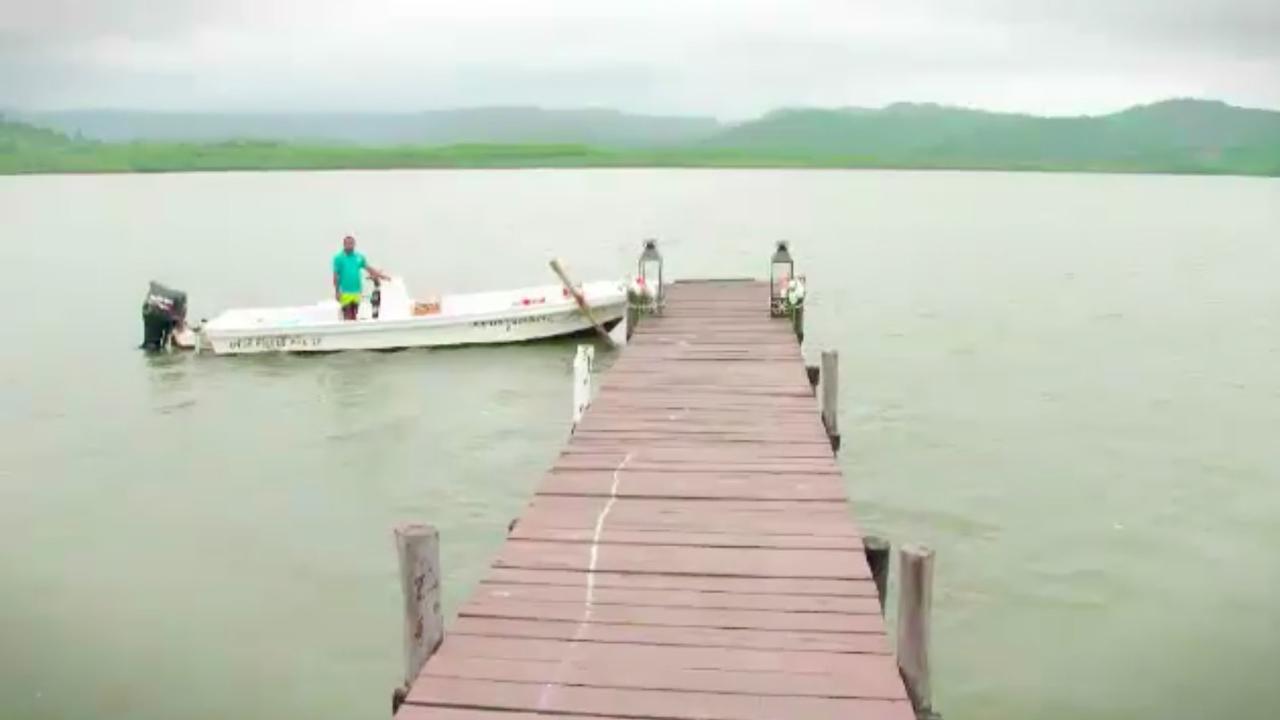 I think – *I think* – it's a boat.