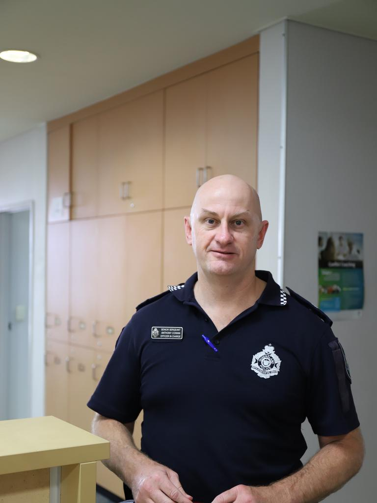 Northern Beaches officer in charge Senior Sergeant Anthony Cowan said in the first six months, the program had doubled the number of cases they closed. Picture: Ashley Pillhofer