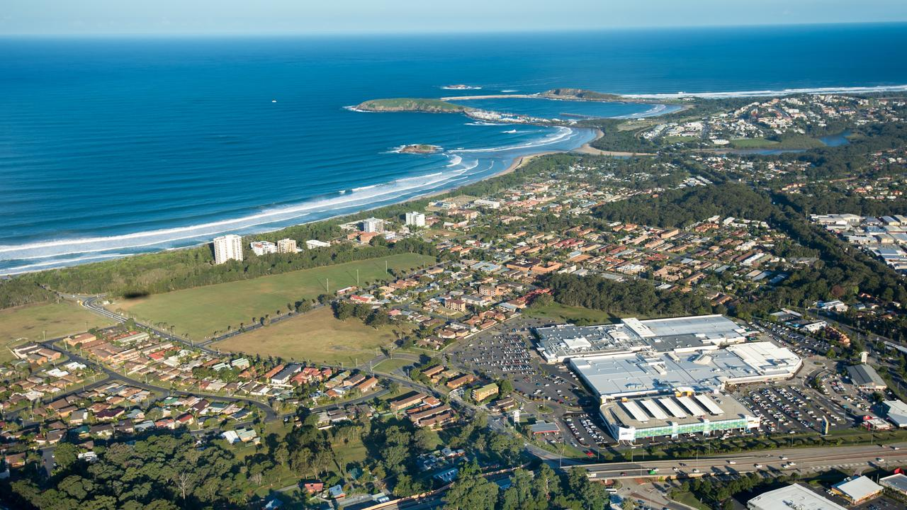 The city of Coffs Harbour, postcode 2450, is home to the highest income earners in the region.