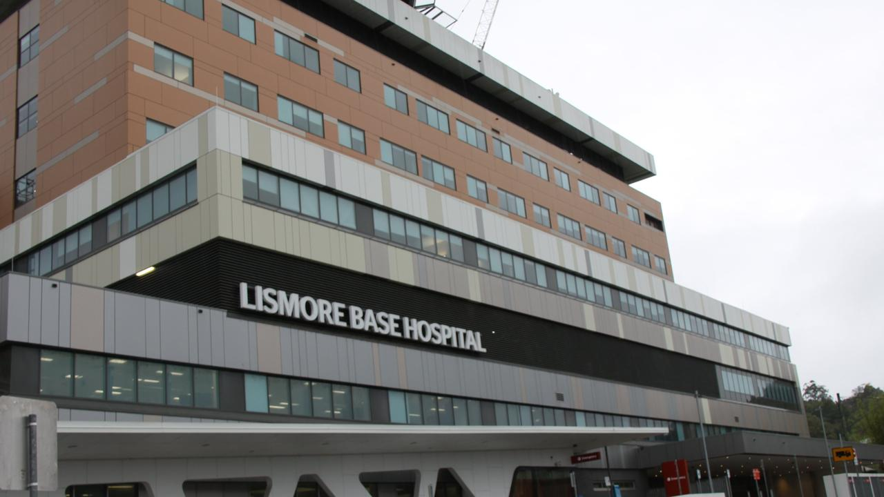 An eight-week-old baby was taken to Lismore Base Hospital last year with suspicious injuries.