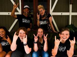 Ready to rock: Budding musos to wow at drive-in concert