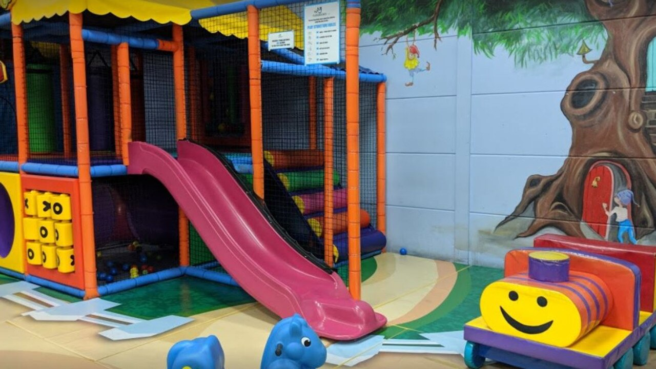 The toddler was at Lollipop's Playland and Cafe in Penrith when she was sexually assaulted.
