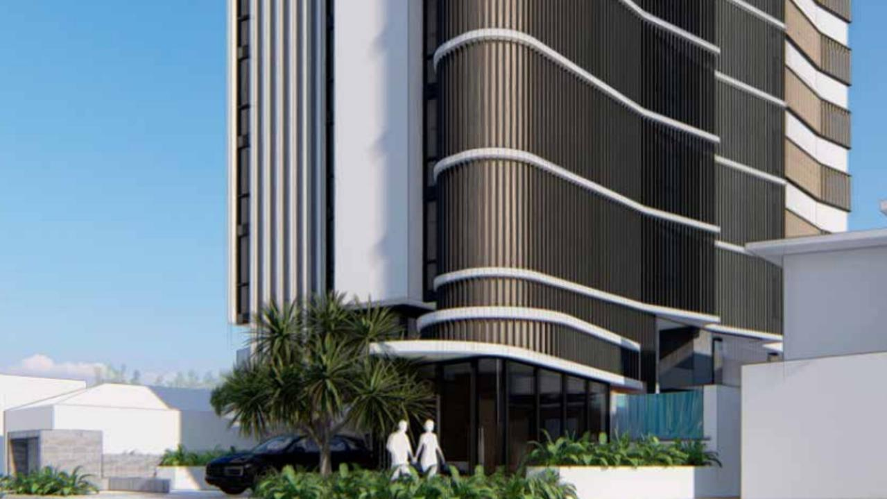The tower will be nine storeys tall