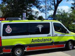 Driver hospitalised after Warrego Hwy crash