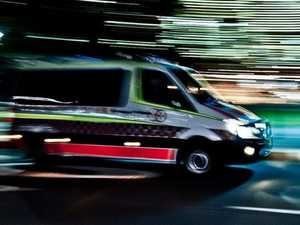 Pedestrian rushed to hospital after being hit by car