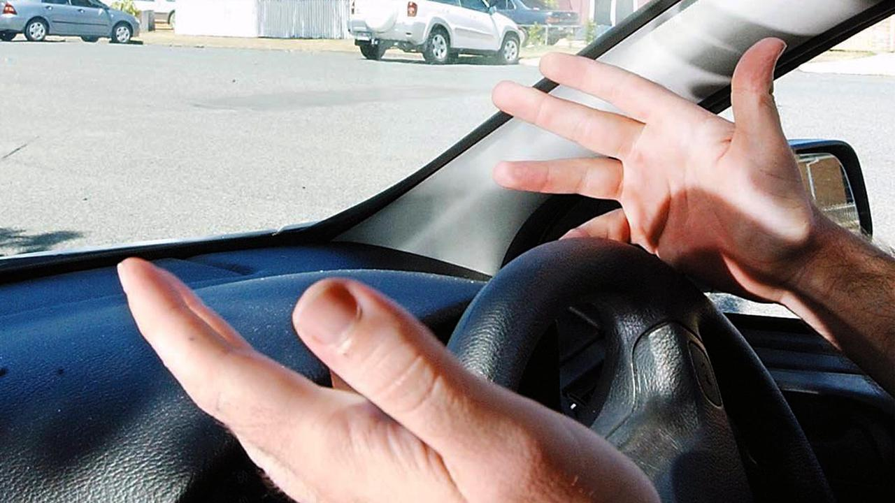 Michelle Heather Heath waved a knife at another motorist during a road rage incident at Yeppoon.
