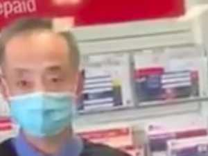 Anti-masker berates post office staffer