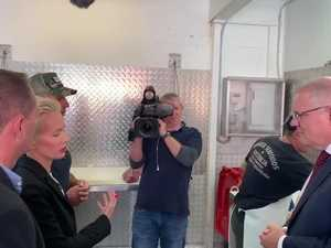 Scott Morrison tours Walker Seafoods in Mooloolaba