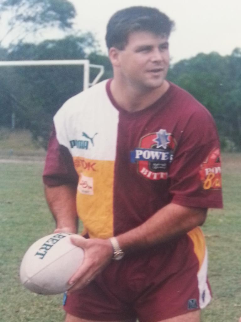 Former Ipswich Grammar School student Brett Plowman