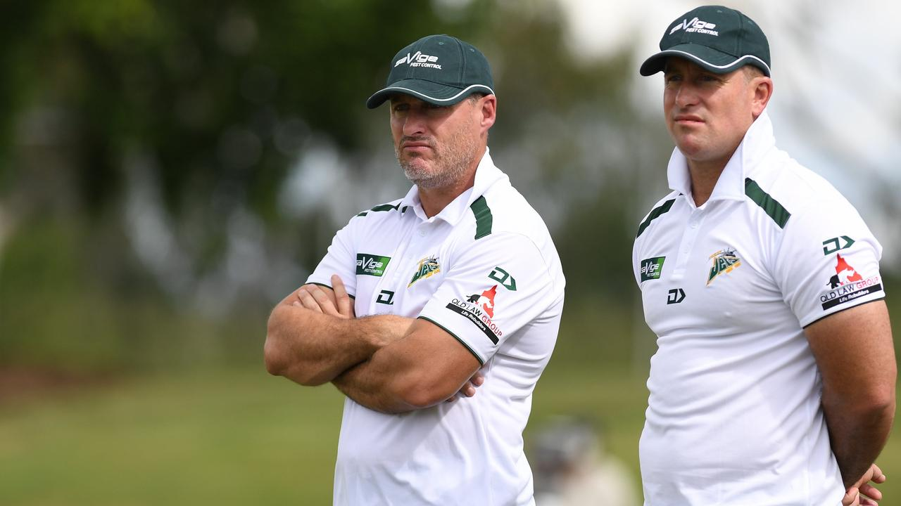 Ben and Shane Walker were unsuccessful with their job interview for the Warriors coach.