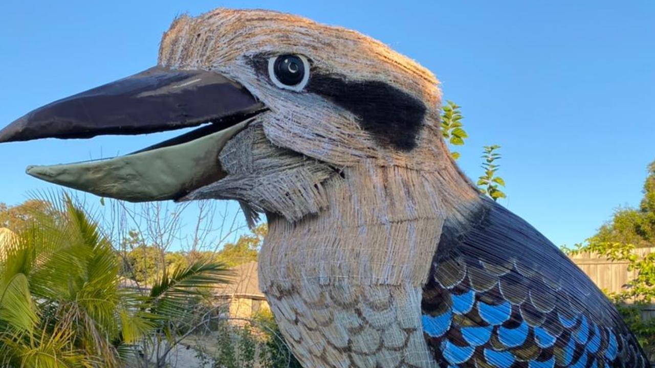 HAVING A LAUGH: The Giant Kookaburra is making its way to Bundaberg on Friday.
