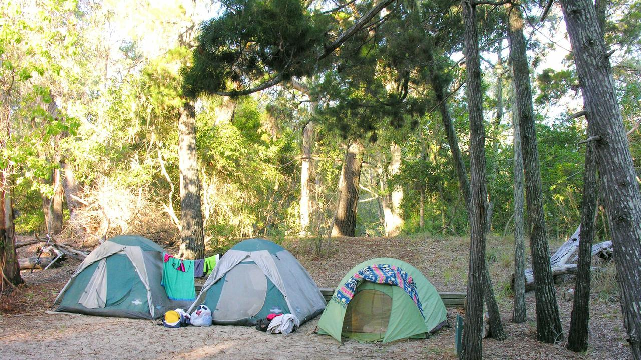 Free campsites across the region remain open despite having no way of recording visitor information. (Picture: Tristan Evert)