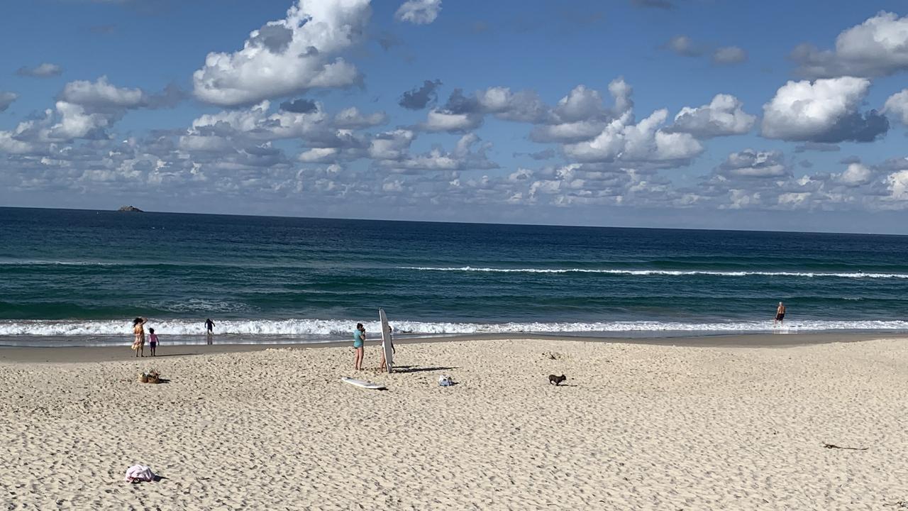 Belongil Beach, Byron Bay.