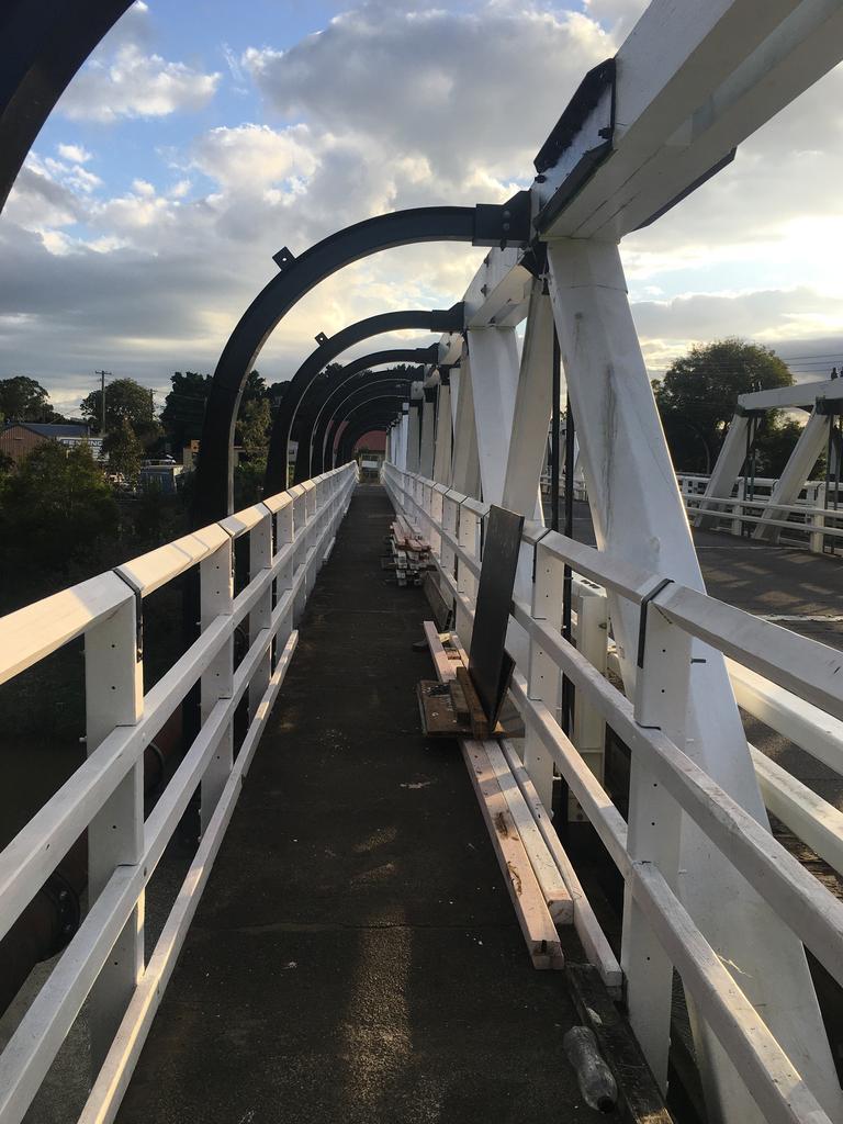 The refurbishment of Colemans Bridge in Lismore is now complete.