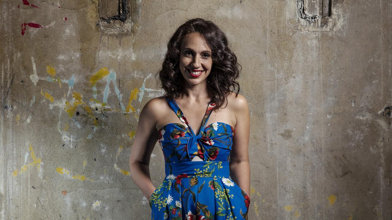 Brisbane Festival artistic director Louise Bezzina hopes she has designed a COVID-proof festival. Photo Mark Cranitch.