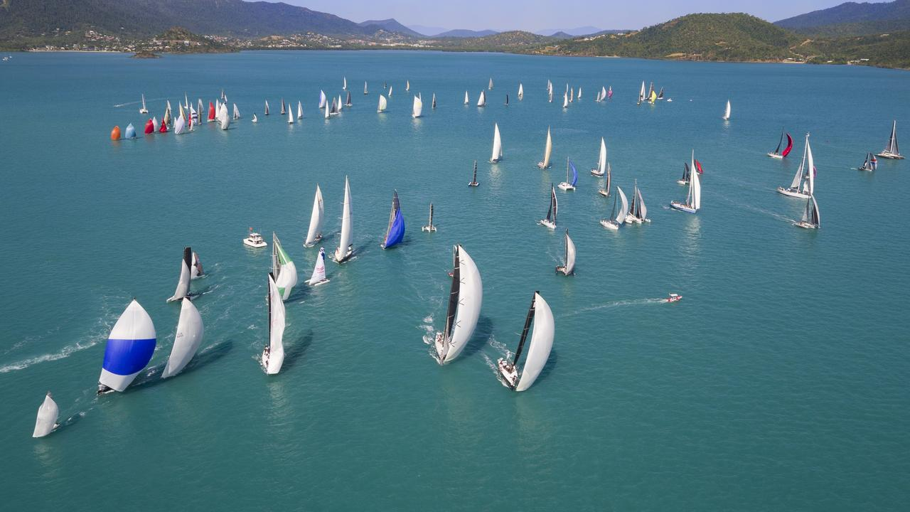 WON'T STOP: Airlie Beach Race Week is still pushing ahead despite coronavirus challenges. Picture: Wasp NQ Productions