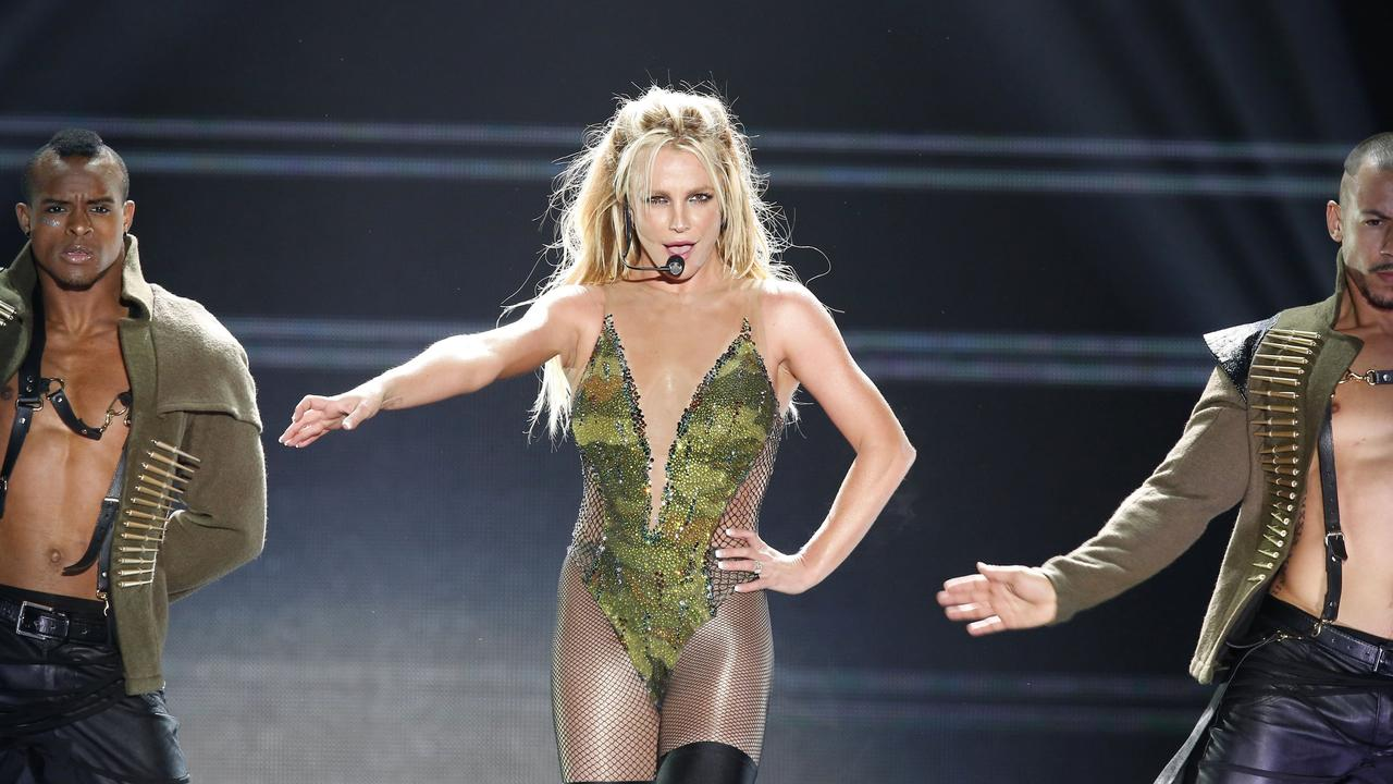 Britney has not performed on stage for almost two years. Picture: AP