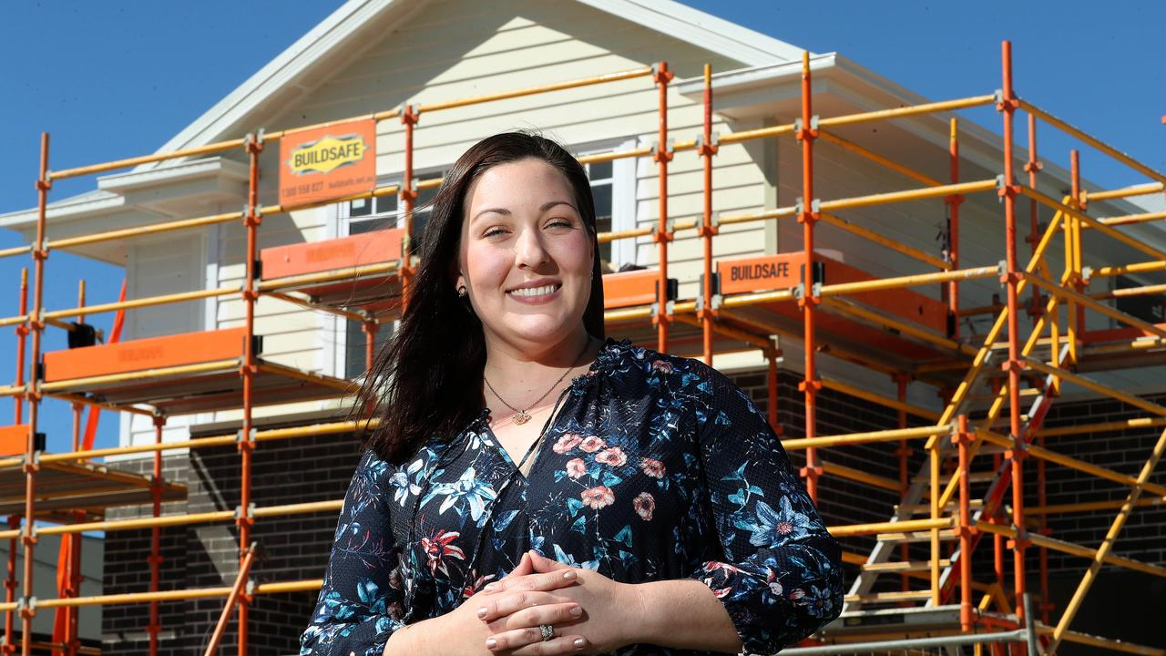 Jess McCormack is building a new home with Metricon at Ridge View estate, Narangba. Photographer: Liam Kidston.