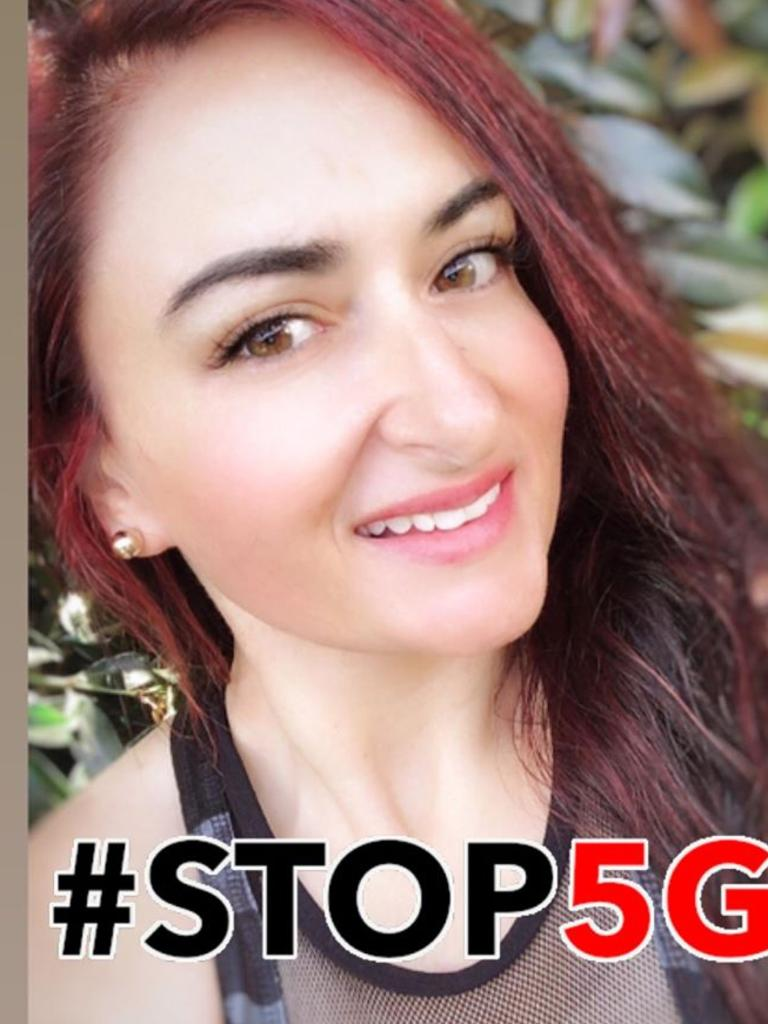 Bernadette Cassar is anti 5G. Picture: Facebook