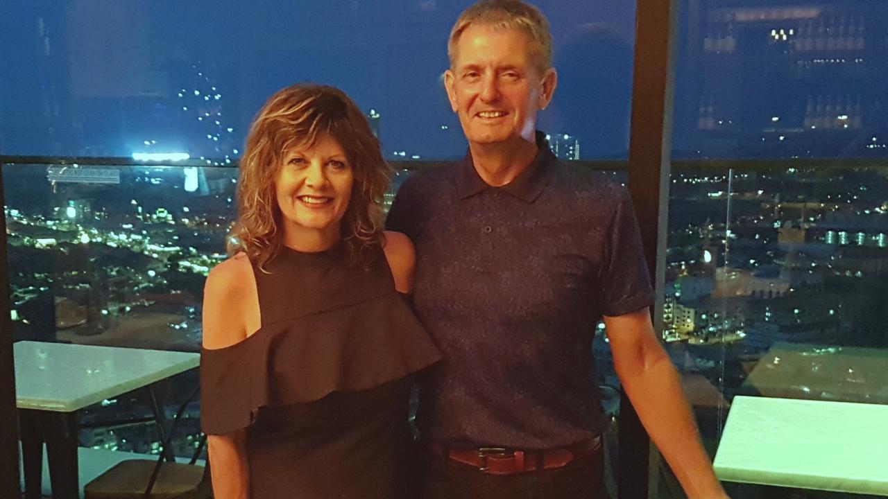 Nigel Whitehead and wife Lyn.