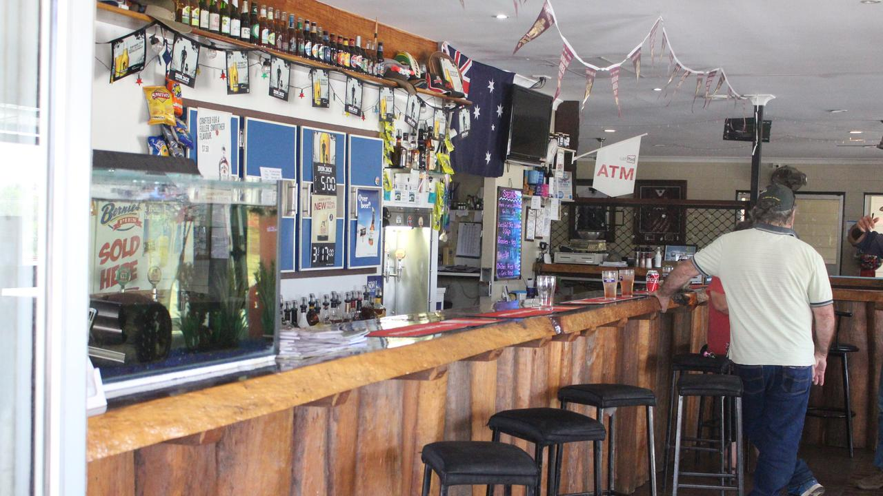 The Raglan Tavern has provided food, showers and accommodation for truck drivers for several years.