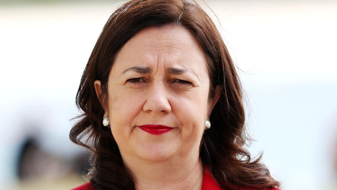 Premier Annastacia Palaszczuk has shut down the border to anyone from Greater Sydney. Picture: NIGEL HALLETT