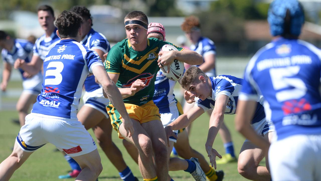 Ignatius Park College defeated St Brendan's College 24-12 in their Aaron Payne Cup encounter at Mackay on Wednesday, July 29. Photo: Callum Dick