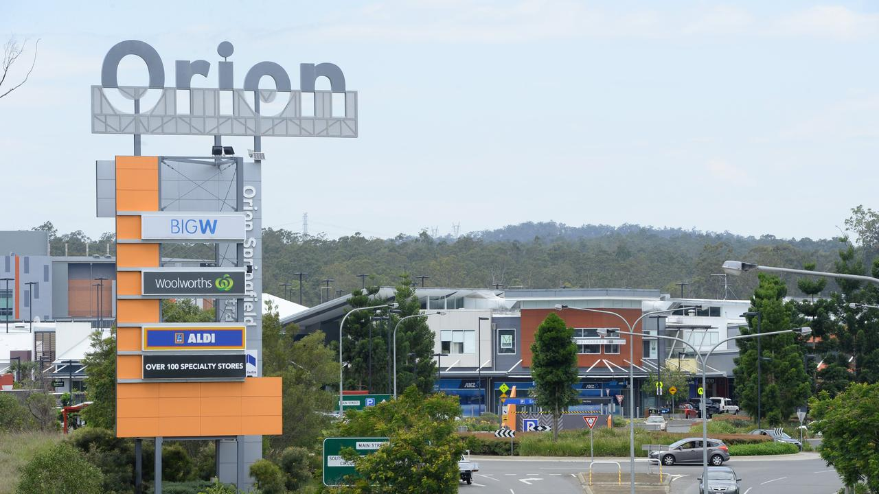 Orion shopping centre in Springfield.Photo: Rob Williams / The Queensland Times
