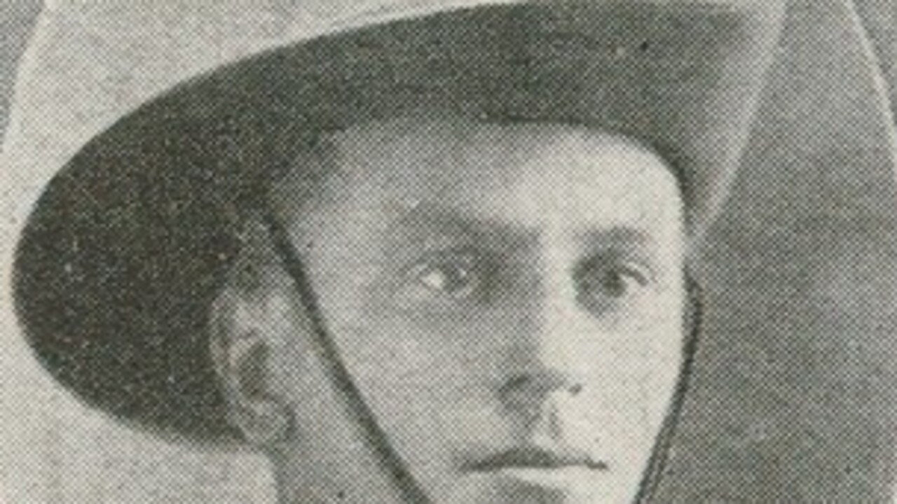 Archie Fisher was killed in the battle of Pozieres. (Picture: Contributed)