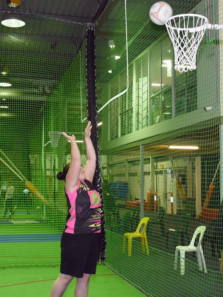 Mixed netball at Ipswich Indoor Sports Centre. Picture: Gary Reid