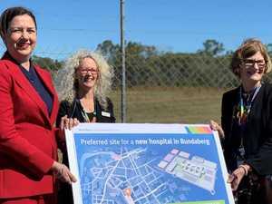 More details: Premier announces new hospital site in Bundy