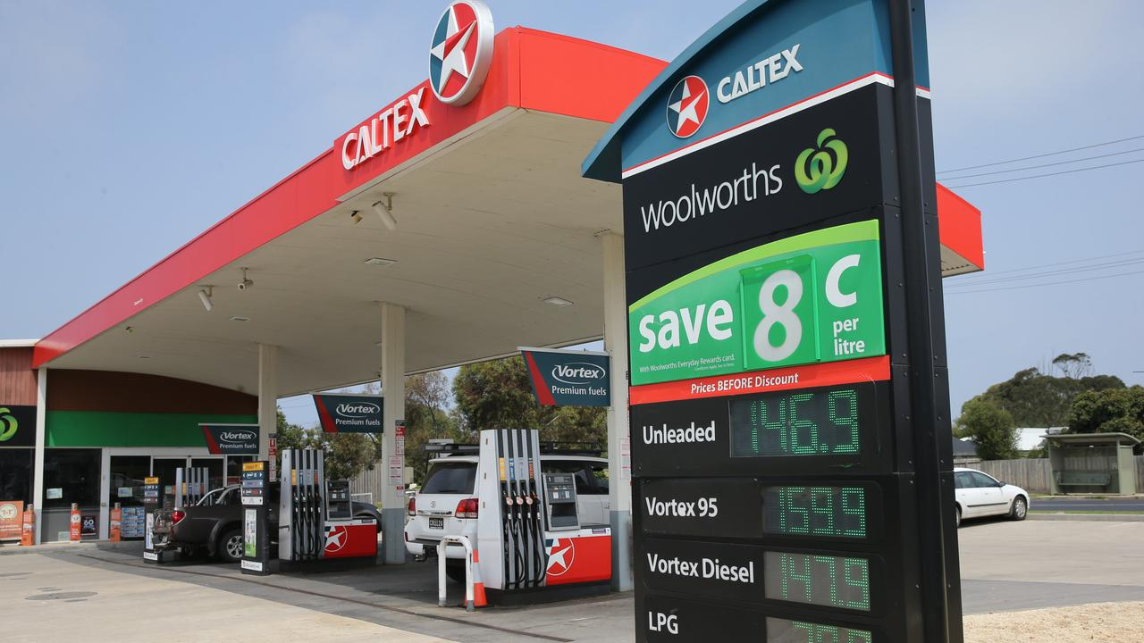 Petrol prices have spiked again. Picture: Peter Ristevski