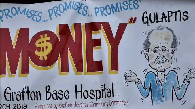 PROMISED: Hospital money in next NSW budget