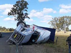 Cattle euthanised after truck rollover near Casino