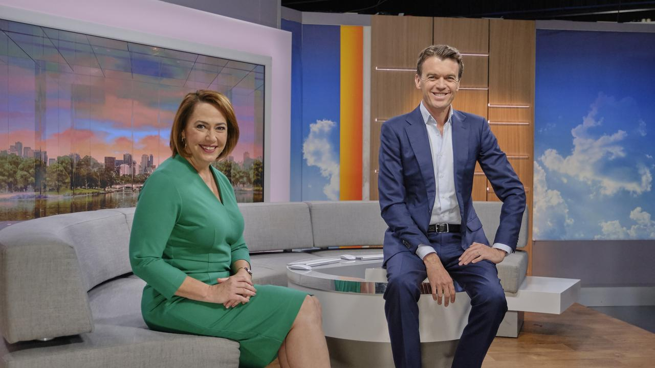 Lisa Millar and Michael Rowland from News Breakfast.
