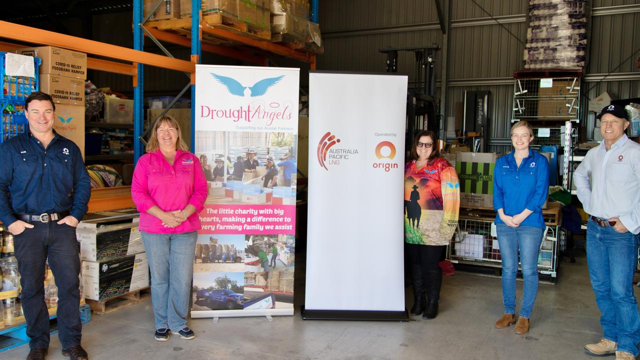 DONATION: Origin has partnered with Drought Angels, donating $175,000 over the next three years. Pic: Supplied