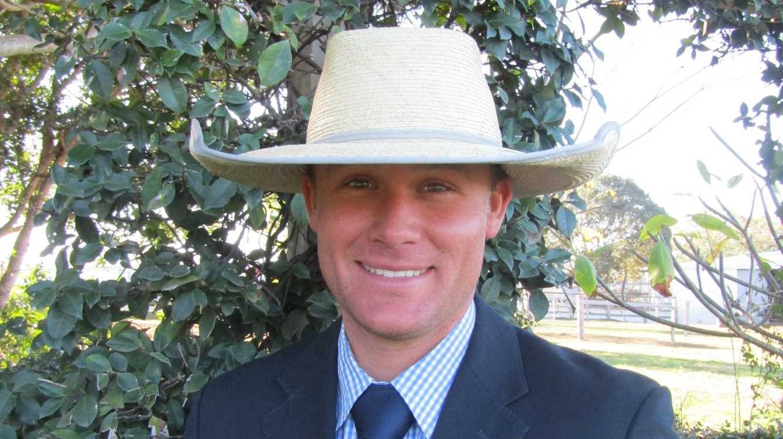 Bartholomew & Co livestock agent and auctioneer Connor Veraart.