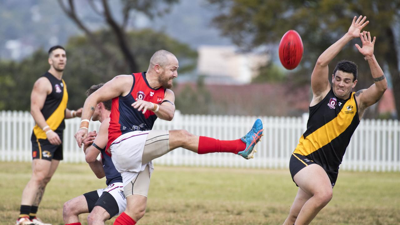 Thye Clarkson is a key to the chances of the Warwick Redbacks against South Toowoomba tomorrow. Picture: File