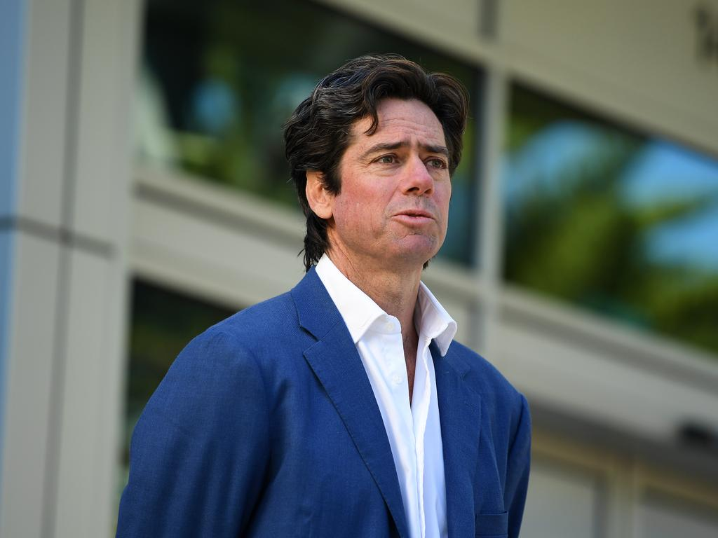 AFL chief executive Gillon McLachlan.