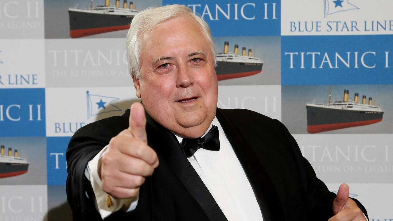 Clive Palmer's United Australia Party has started to advertise for candidates. PICTURE: STEWART MCLEAN