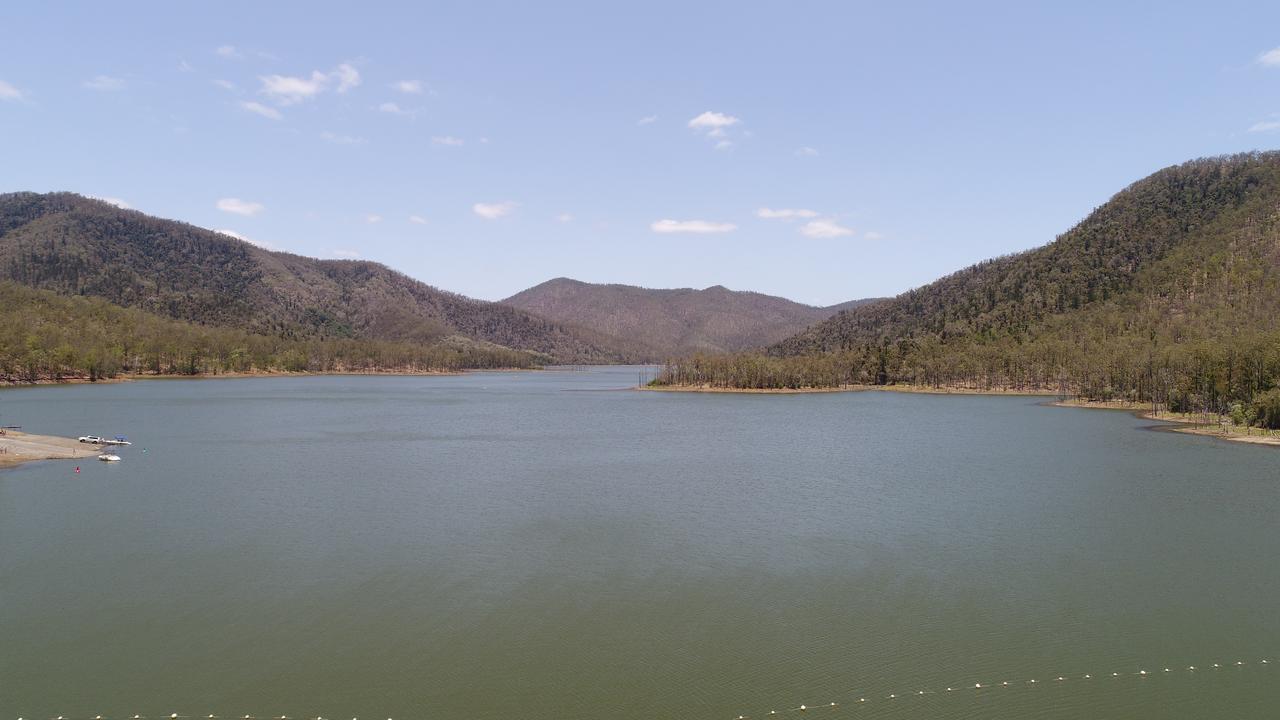Aerial View of Borumba Dam