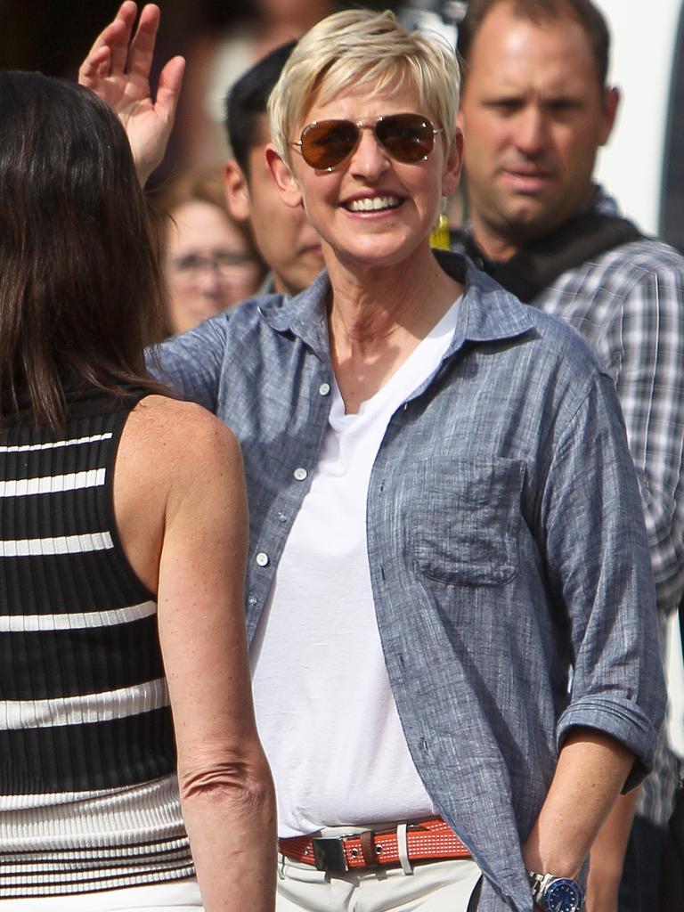 Ellen in Australia in 2013.