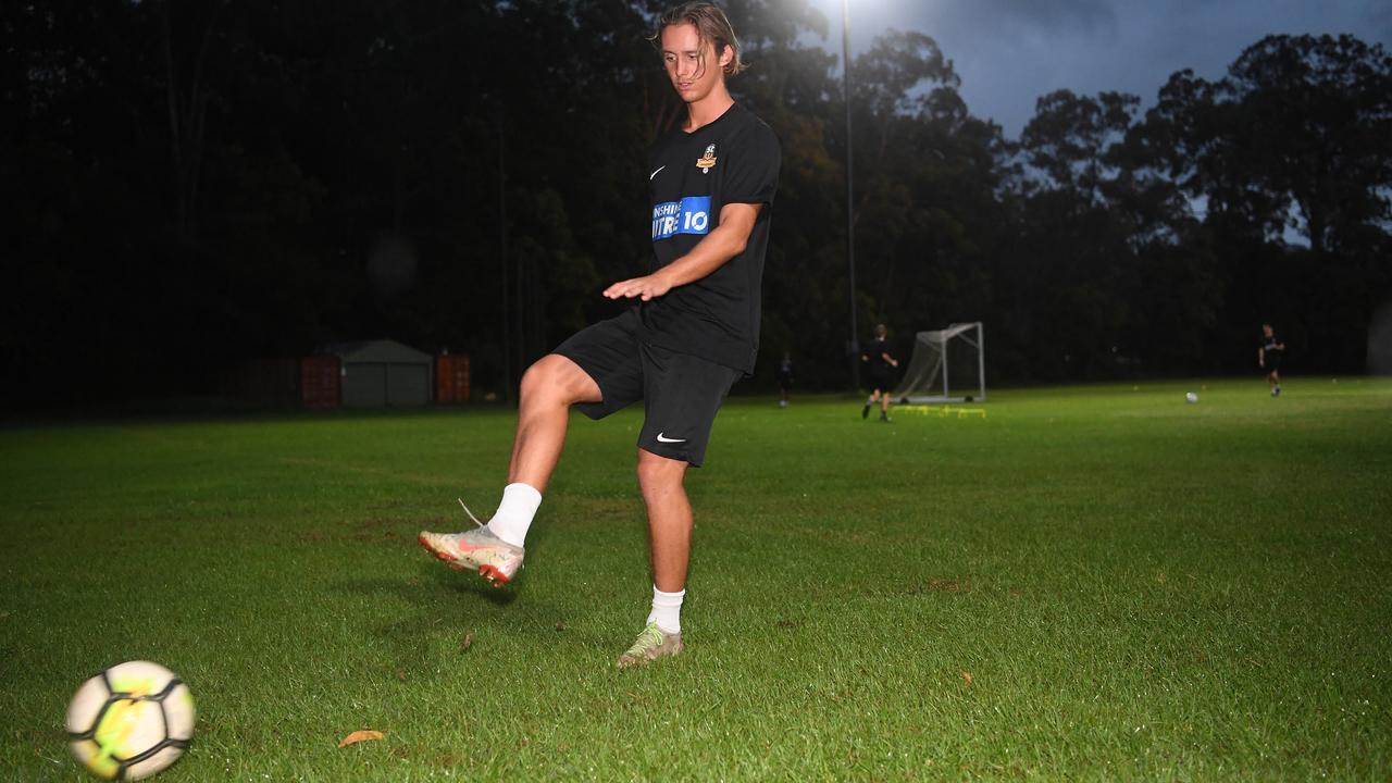 Wanderers player Brodie Boyce. PHOTO: Warren Lynam