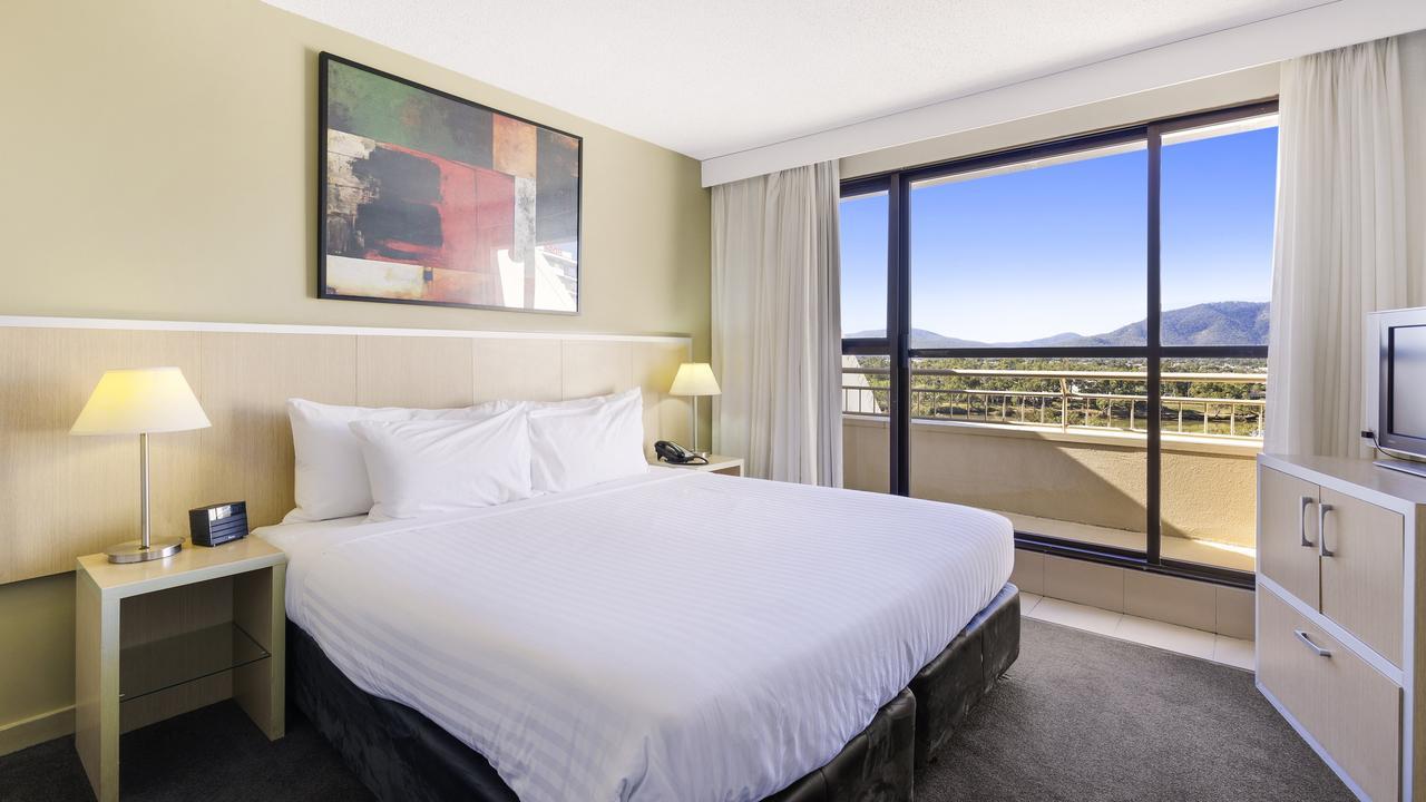 REBRANDING: The eight-storey, 74-room Rockhampton Travelodge will now be known as Mecure Rockhampton.