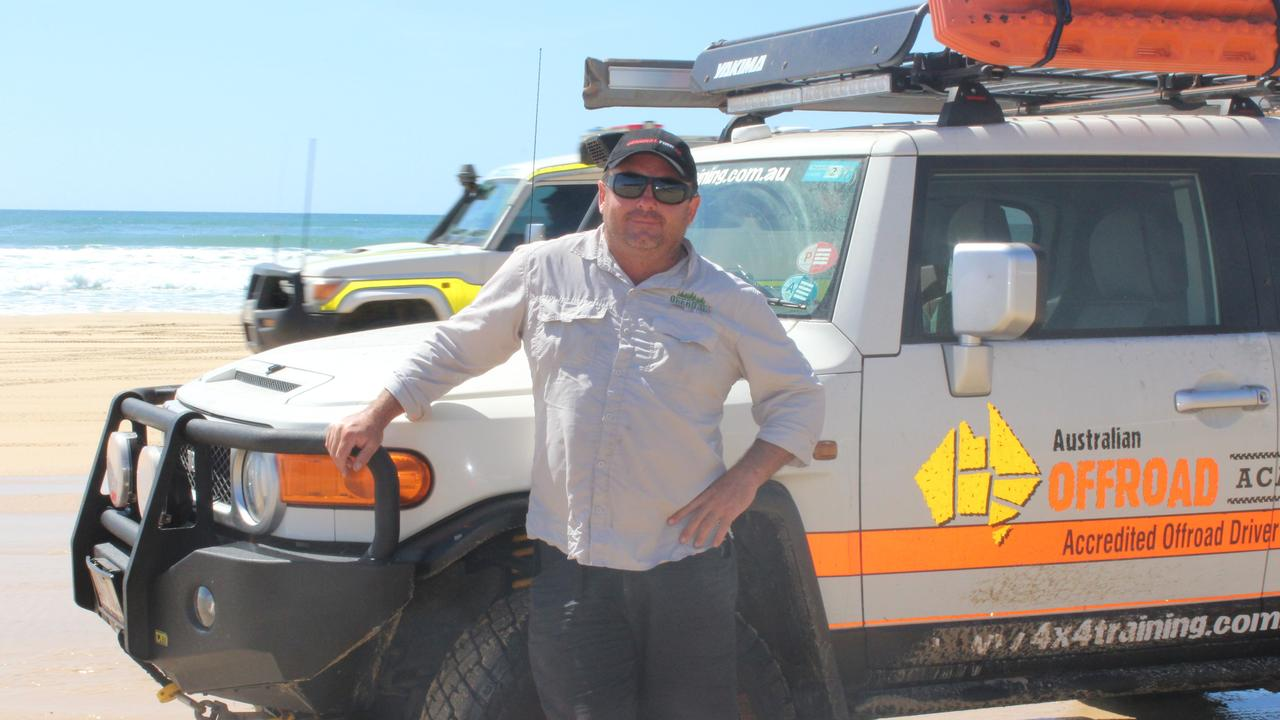 Dave Darmody, director and instructor at Australian Offroad Academy