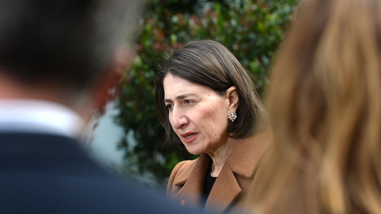 SYDNEY, AUSTRALIA – NewsWire Photos JULY 29. Premier Gladys Berejiklian hold a COVID-19 update at NSW Parliament House, Wednesday, July 29, 2020. Picture: NCA NewsWire / Jeremy Piper