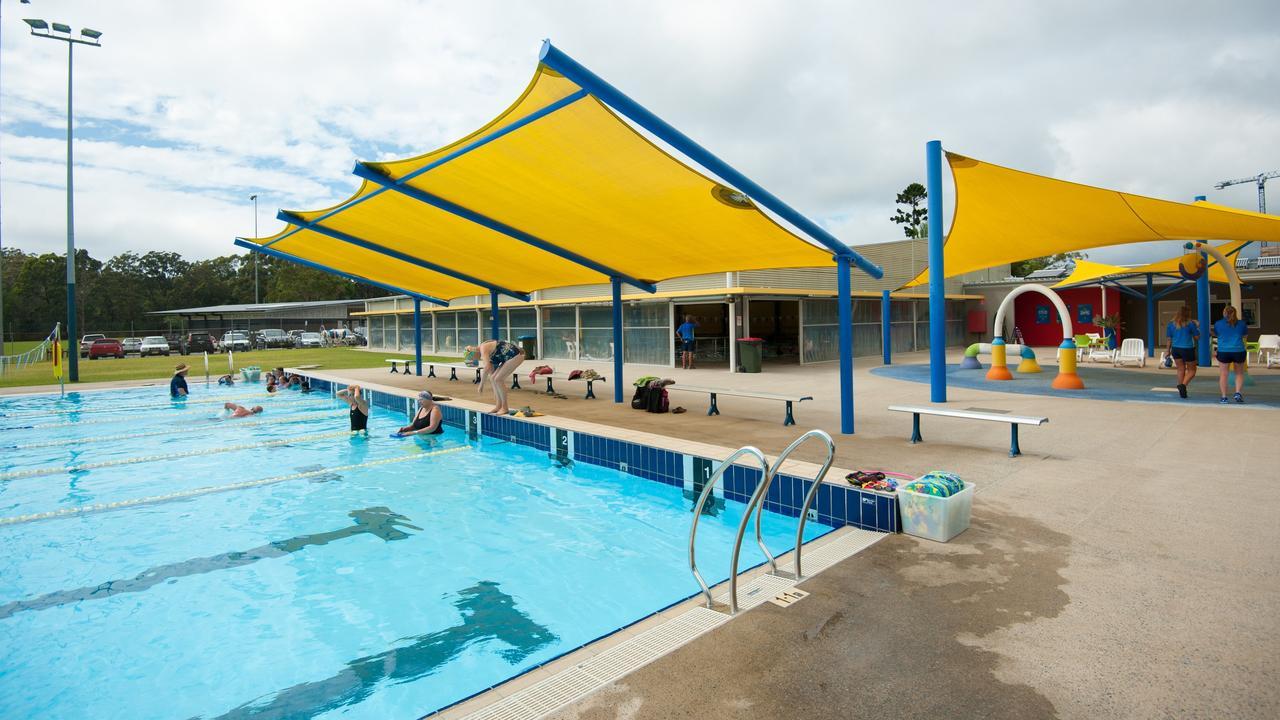 Coffs Harbour public pool.