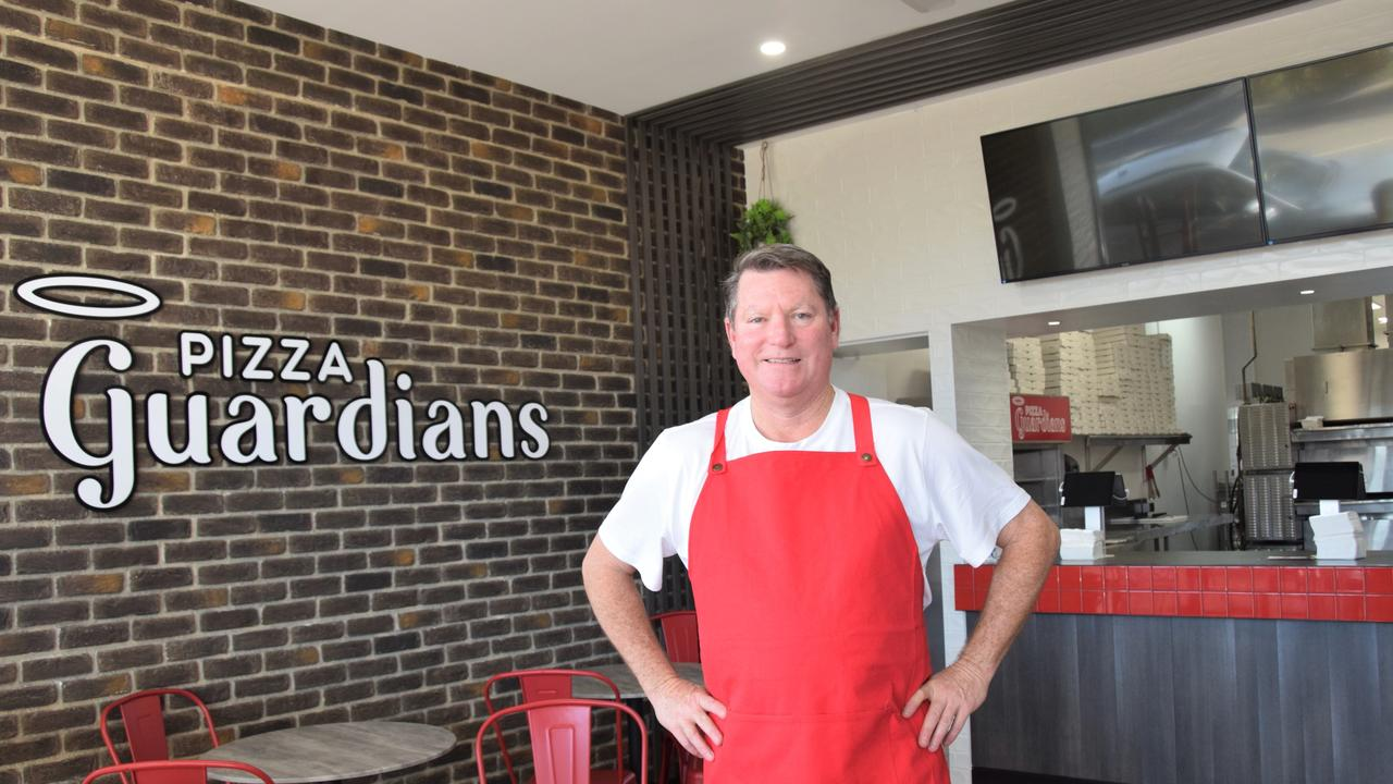 Pizza Guardians founder Tom Potter at the new Rockhampton store this week for the opening.