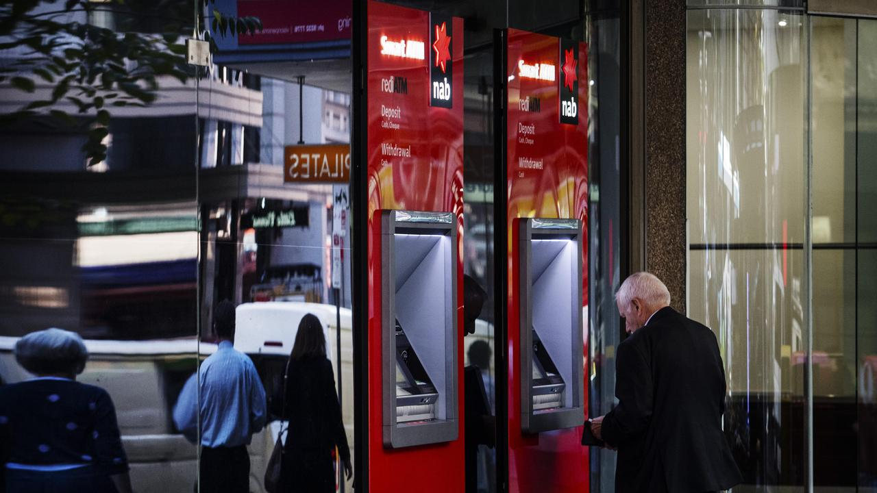 The move was made due to more customers moving to digital banking options. Picture: Hollie Adams/The Australian